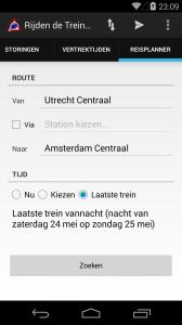 Nieuwe interface